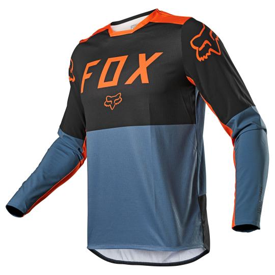 MAILLOT MOTO CROSS FOX LEGION LT - BLUE STEEL 2021