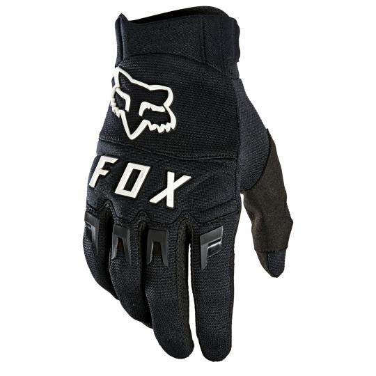 GANTS MOTO CROSS FOX DIRTPAW - BLACK WHITE 2021