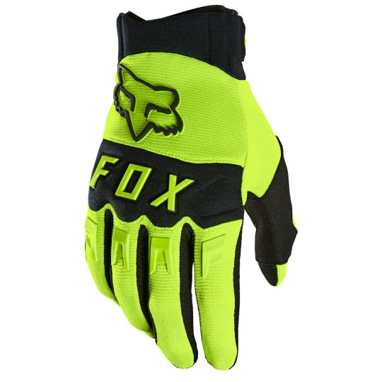 GANTS MOTO CROSS FOX DIRTPAW - YELLOW FLUO 2021
