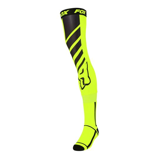 JAMBIÈRES MOTO CROSS FOX MACH ONE - YELLOW FLUO