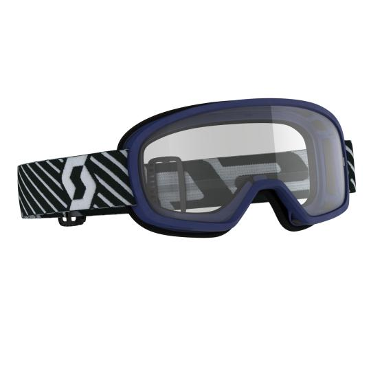 MASQUE MOTO CROSS SCOTT BUZZ MX - BLUE - ECRAN CLAIR