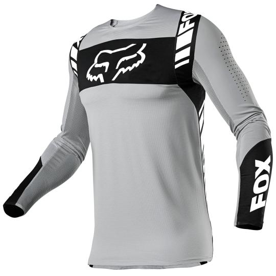 MAILLOT MOTO CROSS FOX FLEXAIR - MACH ONE - STEEL GREY 2021