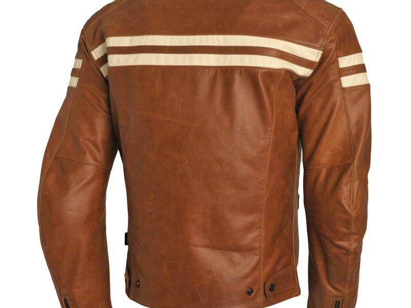 blouson cuir moto segura retro camel. Black Bedroom Furniture Sets. Home Design Ideas