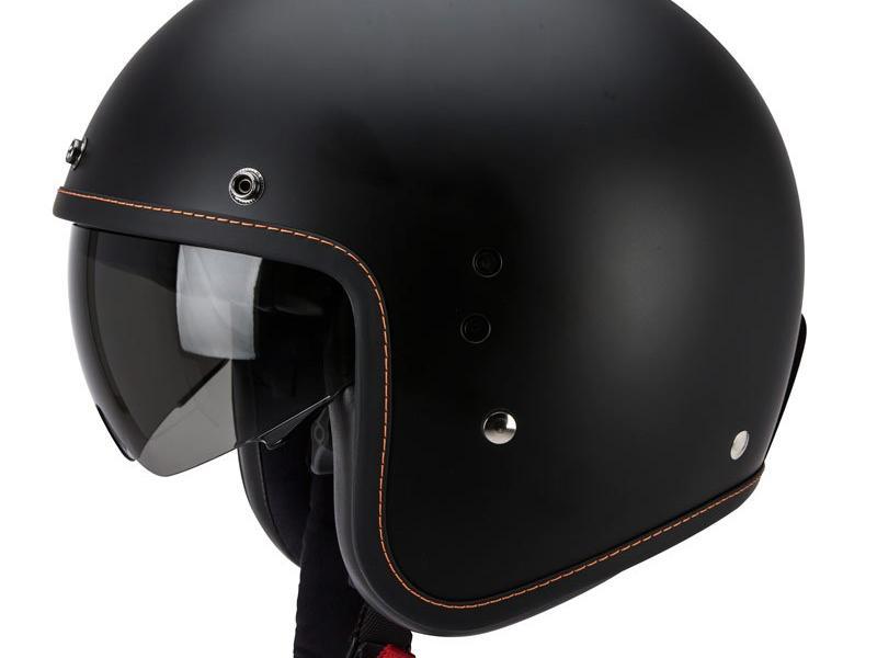 casque moto jet scorpion belfast solid noir mat. Black Bedroom Furniture Sets. Home Design Ideas