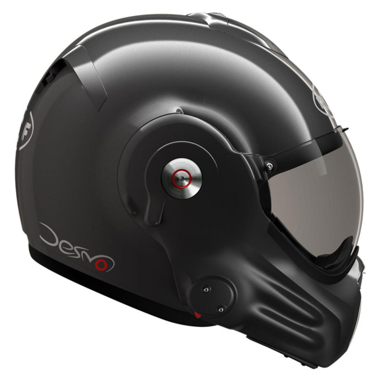 casque moto modulable roof desmo ro32 new generation titane. Black Bedroom Furniture Sets. Home Design Ideas