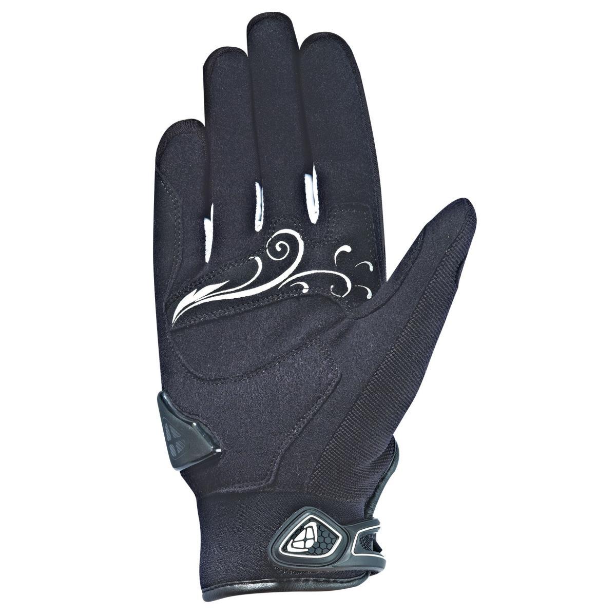 gants moto mi saison ixon rs dry hp femme noir blanc. Black Bedroom Furniture Sets. Home Design Ideas