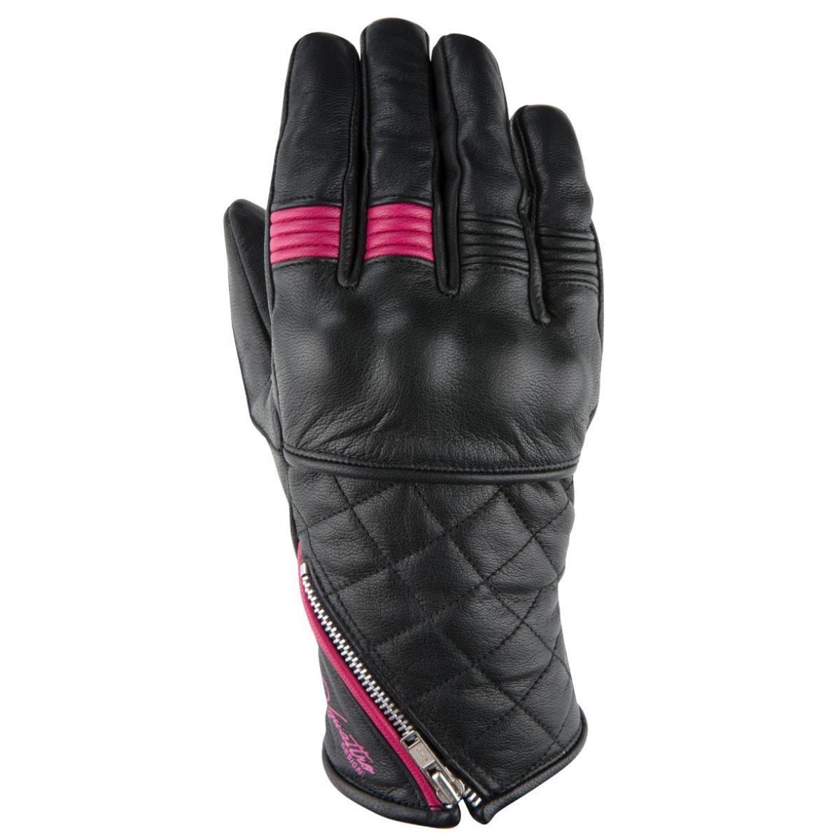 gants moto ete femme v 39 quattro murano noir rose. Black Bedroom Furniture Sets. Home Design Ideas