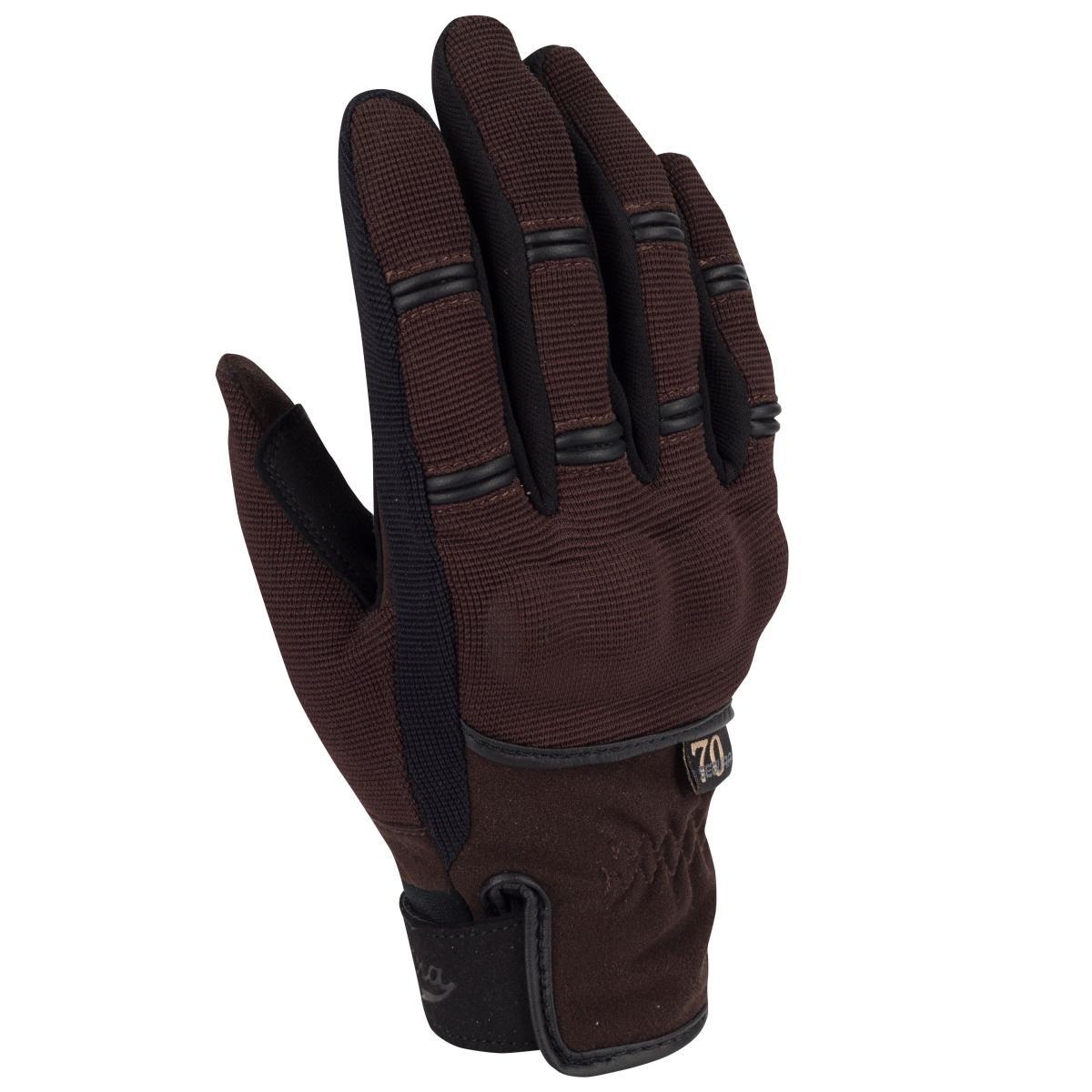 gants moto ete femme segura tobias marron noir. Black Bedroom Furniture Sets. Home Design Ideas