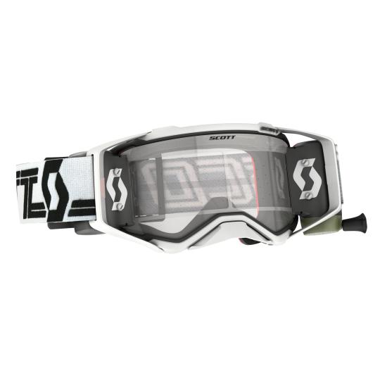 MASQUE CROSS SCOTT PROSPECT SUPER WFS - WHITE/BLACK