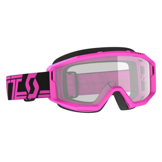 MASQUE MOTO CROSS SCOTT PRIMAL CLEAR - BLACK/PINK